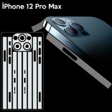 İPhone 12 Pro Max 6.7 Hidrojel Hayalet Yan Alt Üst Kamera Kaplama Film