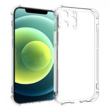 İPhone 12 Pro 6.1 Anti-Drop Silikon Kılıf Kamera Korumalı Şeffaf Silikon Kılıf