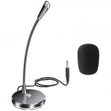 Pc Bilgisayar Canlı yayın- Oyuncu-Konferans Masaüstü Mikrofonu 3.5mm