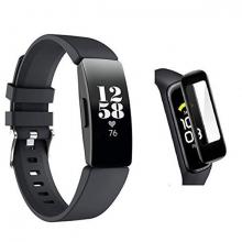 Fitbit Inspire HR 3D kavisli PC+PMMA Full Ekran Koruyucu