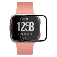 Fitbit Versa 3 - Fitbit Sense 3D kavisli PC+PMMA Ekran Koruyucu