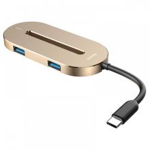 Baseus O HUB Type-C HDMI USB 3.0 Çevirici Çoğaltıcı Converter Çevirici