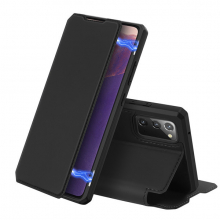 DUX DUCİS SM Galaxy Note 20 Kılıf Kapaklı Flip Cover Kılıf Skin Pro Series Kılıf