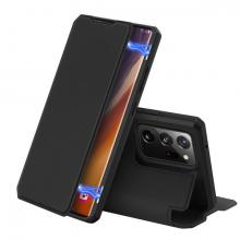 DUX DUCİS SM Galaxy Note 20 Ultra Kılıf Kapaklı Flip Cover Kılıf Skin Pro Series Kılıf