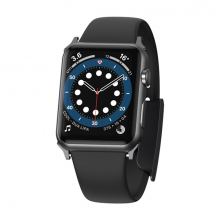 Baseus Slip-Thru Apple Watch 6-SE-5-4-3 42mm-44mm Silikon Kordon Kayış