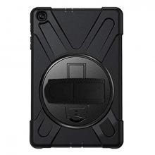 Galaxy Tab A7 10.4 SM-T500-T505-T507 Kılıf Shockproof 3 Katmanlı Standlı Zırh Kılıf Kalem Yerli