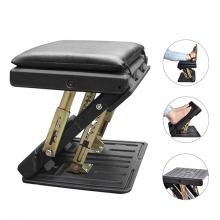 ALLY Araç Ayarlanabilir Footrest Yükseklik Ayarlı Ayak Tabure Araba Ofis Masa Altı Tabure