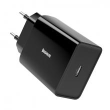 Baseus Speed Mini Quick Charger 18W Şarj Başlık Type-C Hızlı Şarj Adaptörü