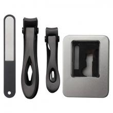 EZERE 3 Parça Profesyonel Paslanmaz Çelik Tırnak Pedikür Tırnak Makası