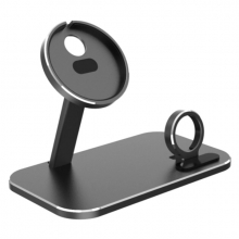 ALLY 2in1 Magsafe Şarj İstasyonu İPhone 12 Apple Watch Tutucu Şarj Dock