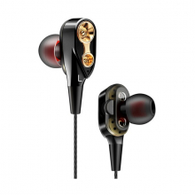 QKZ CK8 HİFİ Çift Dinamik Heavy Bass 3.5 MM Kulak İçi Kulaklık