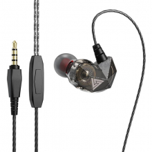 QKZ AK2 Süper Bass Kablolu Mikrofonlu Sportif Kulakiçi Kulaklık