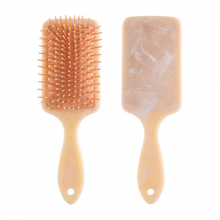 EZERE Mermer Desenli Saç Açma Ve Tarama Fırçası Anti-Statik Saç Fırçası