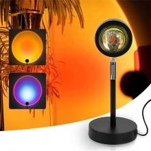 ALLY Günbatımı Projektör 180 Derece Dönen Usb Gece Lambası Günbatımı Projektör