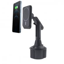 ALLY  Bardaklık Uyumlu Telefon Tutucu Magsafe iPhone 12 Serisi 15W Kablosuz Hızlı Şarj Cihazı