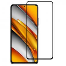 Xiaomi Poco F3 Full Glue Full Kaplama Tempered Cam Ekran Koruyucu