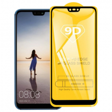 ALLY Huawei P20 Lite 9D Full Glue Tempered Cam Ekran Koruyucu