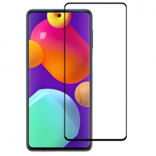 SM Galaxy F62 - M62  Full Glue Full Kaplama Tempered Cam Ekran Koruyucu
