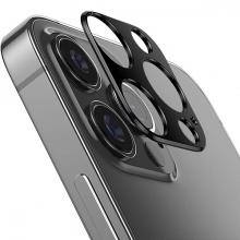 İPhone 12 Pro Max 3D Metal Kamera Koruyucu Metal Lens