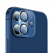 ALLY İPhone 12 6.1 3D Full Tempered Glass Cam Kamera Koruyucu