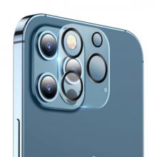 ALLY İPhone 12 Pro Max 3D Full Tempered Glass Cam Kamera Koruyucu