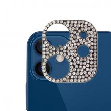 ALLY İPhone 12 Mini Kamera Koruyucu Lens Diamond Taş İşlemeli