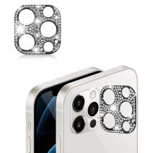 ALLY İPhone 12 Pro Max Kamera Koruyucu Lens Diamond Taş İşlemeli