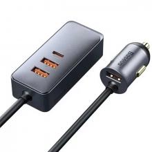 Baseus Share Together PPS 120W 4 Portlu (3 USB+1 Type-C) Hızlı Araç Şarjı 1.5m