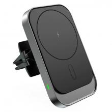ALLY Magsafe İPhone 12 15W Kablosuz Hızlı Şarj-Araç Havalandırma Tutucusu
