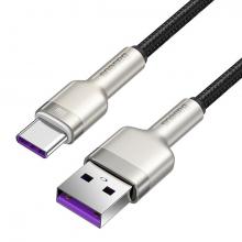 Baseus Cafule 66W Metal USB to Type-C Hızlı Şarj Kablosu 25cm
