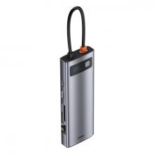 Baseus Metal Gleam Series 100W 9 in1 Type-C HUB Adaptör Çoklayıcı