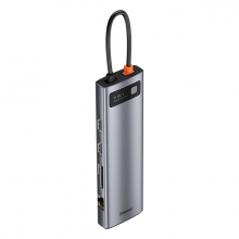 Baseus Metal Gleam Series 100W 11 in1 Type-C HUB Adaptör Çoklayıcı