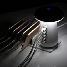 5 USB PORT ÇIKIŞLI LED IŞIKLI MASA USTU STANDLI ŞARJ