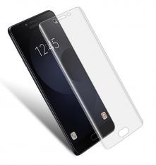 Ally Samsung Galaxy C9 Pro İçin 3d Nano Tpu Şeffaf Ekran Koruyucu