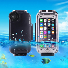 Haweel İphone 7,İphone 8 40 Metreye Kadar Sualtı Kılıfı