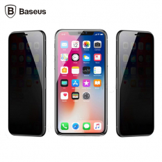 BASEUS İPHONE XS MAX 6.5 3D FULL PRİVACY GİZLİLİK CAM EKRAN KORUYUCU