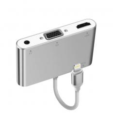 İPhone İPad P32 Hdmi Vga Av Audio Dönüştürücü Adaptör