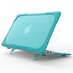Macbook Air 11,A1370,A1465 Şeffaf Standlı Koruyucu Kılıf