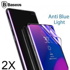 BASEUS SM GALAXY S10+ PLUS ANTİ BLUE LİGHT 3D FULL PET ANTİKNOCK EKRAN KORUYUCU 2 ADET SET