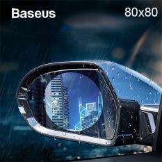 Baseus 80X80 Anti Sis Yağmur Geçirmez Hidrofobik dikiz aynası Film 2 adet