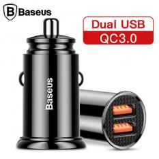 Baseus Circular Plastic A+A 30W Dual QC3.0 Hızlı Araç Şarj Cihazı CCALL-YD0