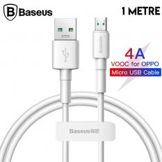 Baseus Mini White Micro USB 4A OPPO VIVO Dash Usb Şarj Kablosu 1Metre