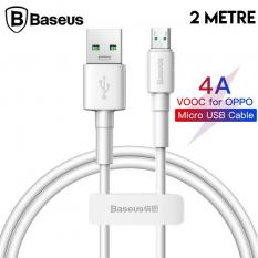 Baseus Mini White Micro USB 4A OPPO VIVO Dash Usb Şarj Kablosu 2Metre