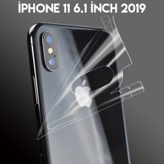 İPhone 11 6.1 İnch 2019 Hidrojel Hayalet Arka Tam Kaplama Film