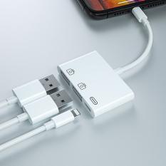 3in1 İPhone-İPAD İOS13 lightning To Usb Kamera Okuyucu