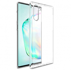 Ally Samsung Galaxy Note 10 Ultra Slim Fit Şeffaf Silikon Kılıf