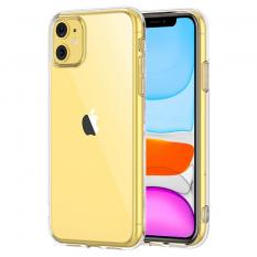İPhone 11 6.1 inch 2019 Ultra Slim Fit Şeffaf Silikon Kılıf
