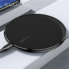 KUULAA 10W Qi Kablosuz Wireless Şarj Cihazı İPhone 11 Pro 8 X XR XS Max
