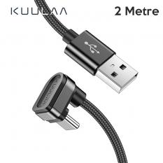 KUULAA U-shape Mobile Game USB Type C Oyuncu Şarj Kablosu 2Metre
