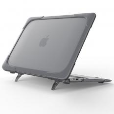 Macbook Air 13 Kılıf,A1932 2018,2019,2020 Şeffaf Standlı Koruyucu Kılıf